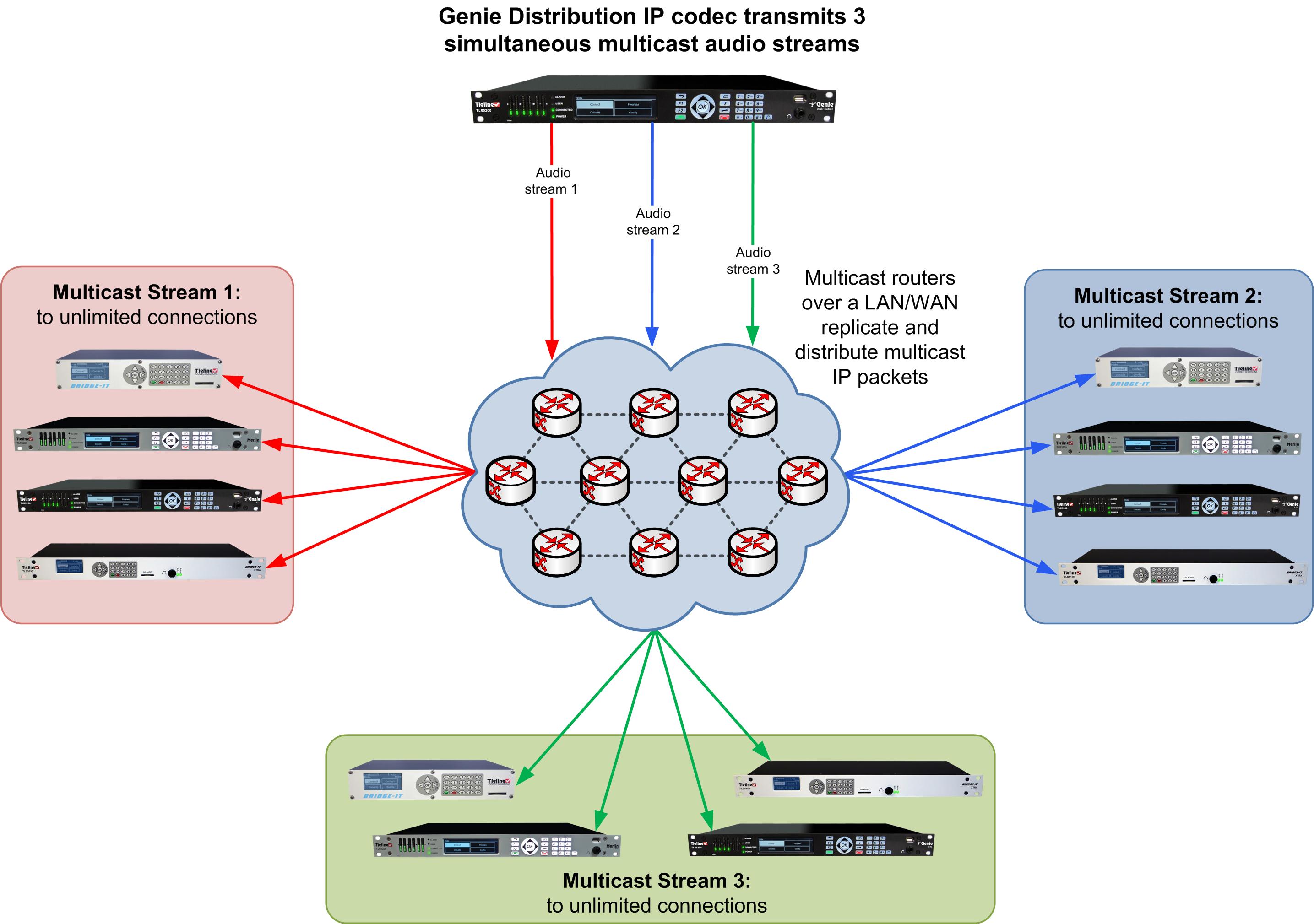 Configure Multicast Server Programs
